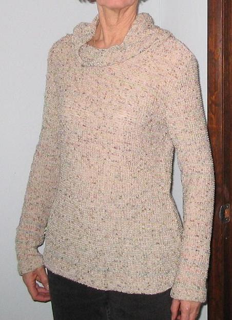 Burda knit tops 8291 pattern review by CarolynGM