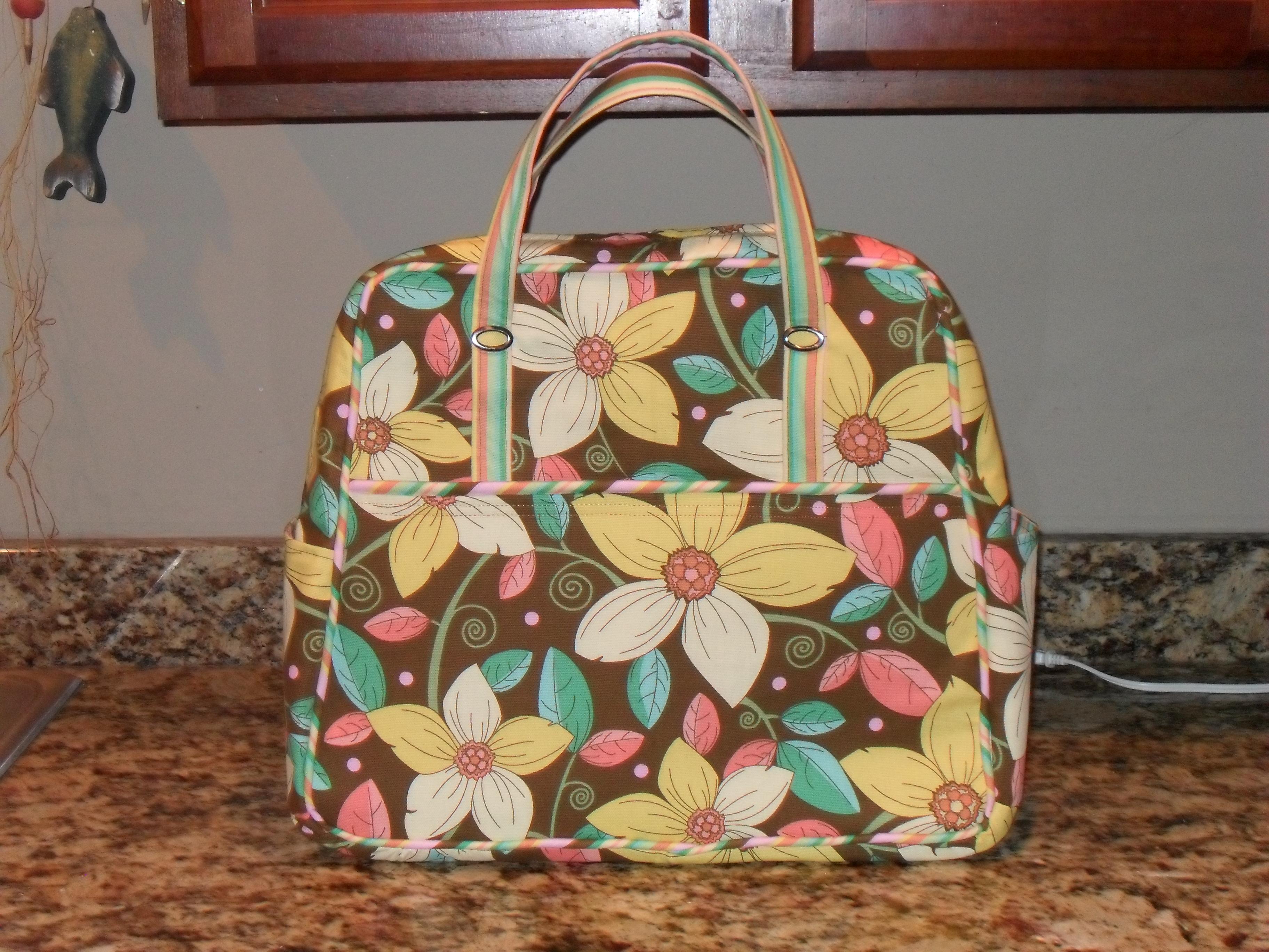 Pattern Travel Bag 118