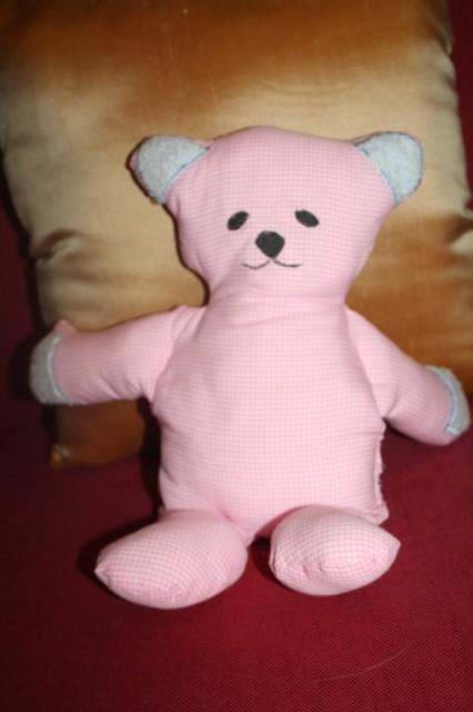 Kwik Sew Teddy Bear, Bunny & Blanket 27910 pattern review by cindy-lou