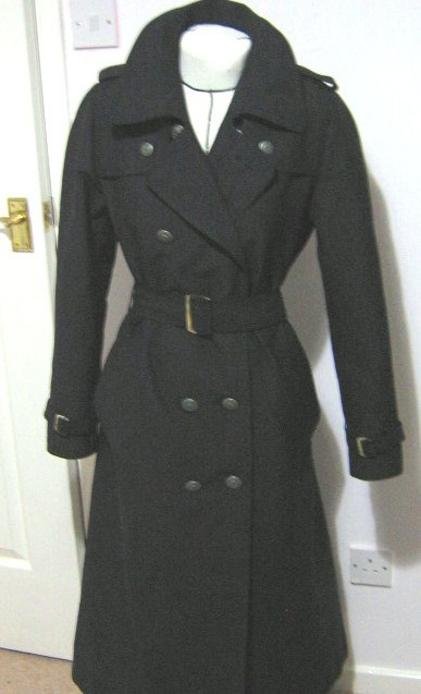 Trench Coat Sewing Pattern 26
